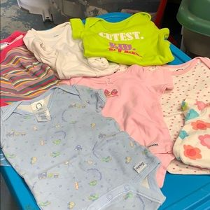 Mixed Lot of Onsies NB-6 months